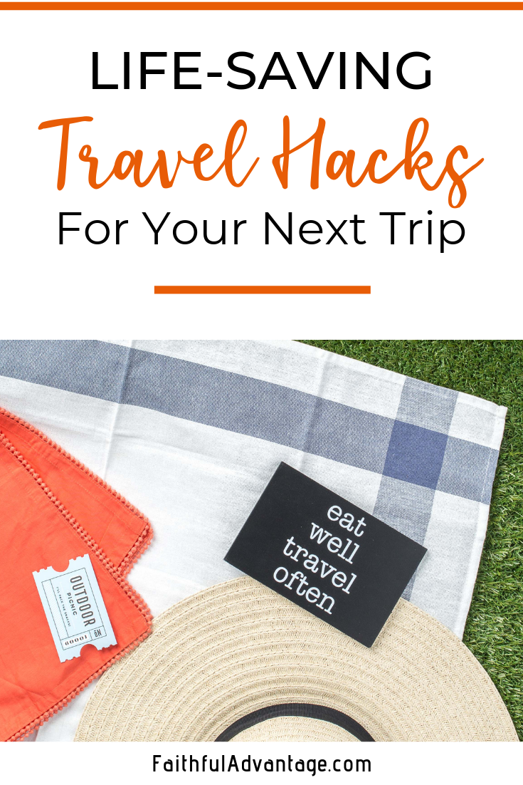 Simple Travel hacks that can save your life