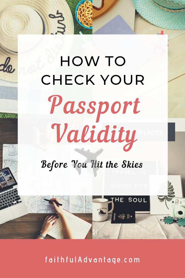 How to check your passport validity before you travel