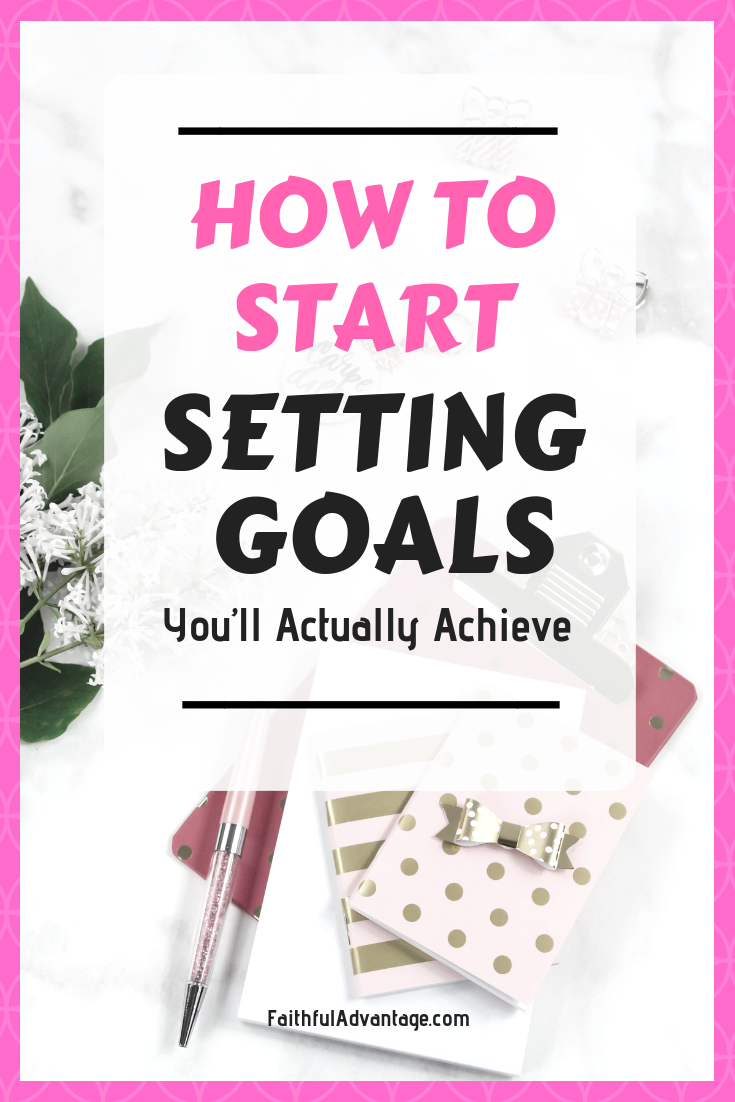How to set goals you'll actually achieve