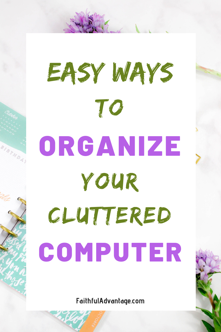 How to Organize your computer files