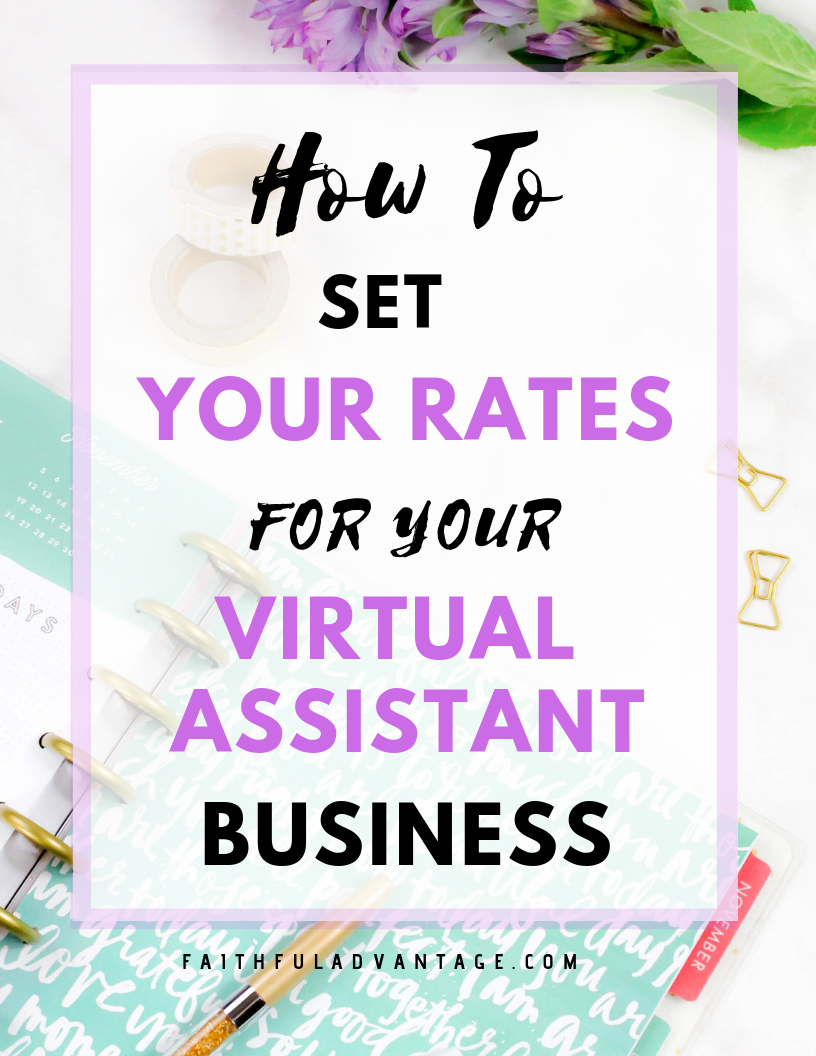 How To Set Your Virtual Assistant Rates