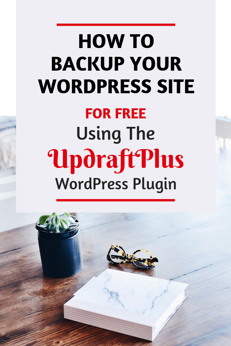 Backup your WordPress Site for Free