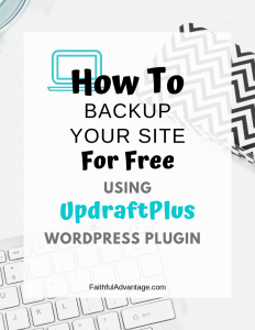 How to Backup Your WordPress Site for Free