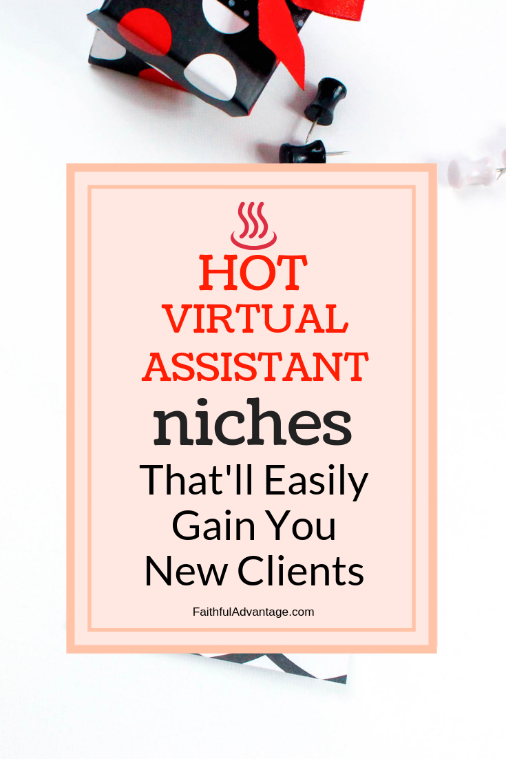 Hot Virtual Assistant Niches