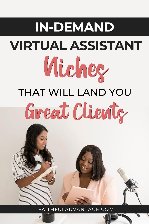 Virtual Assistant Niches_Faithful Advantage