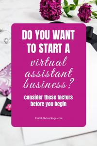 Do you want to start a virtual assistant business
