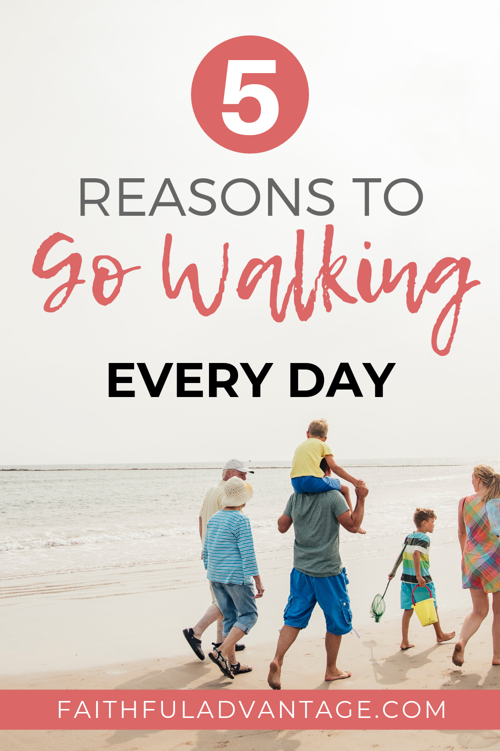 5 Reasons you should go for a walk every single day
