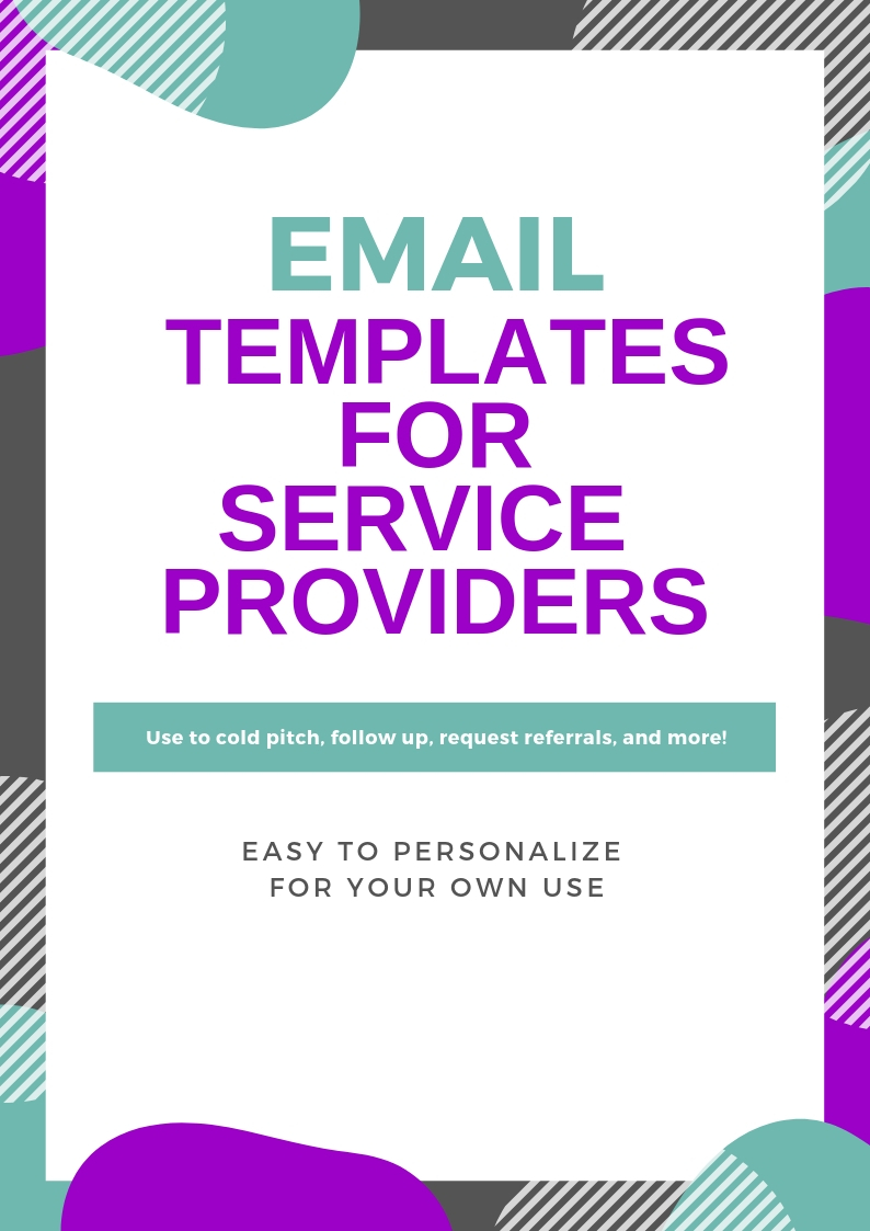 Email Templates for Service Providers