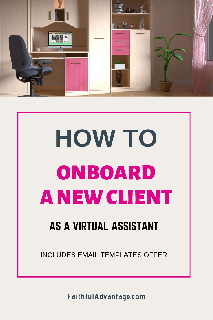 How to onboard a new client to your VA business