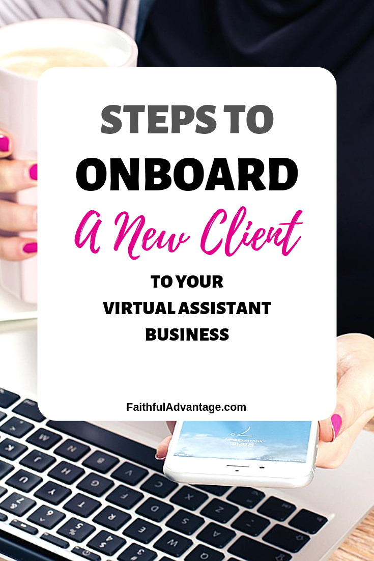 How to onboard a new client to your virtual assistant business