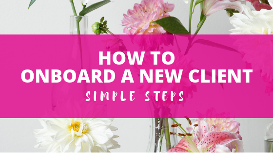 How to onboard a new client