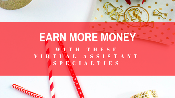Specialty virtual assistant niches