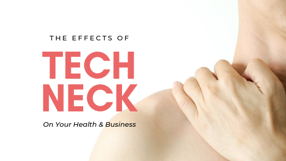 How tech neck affects your workday - Faithful Advantage