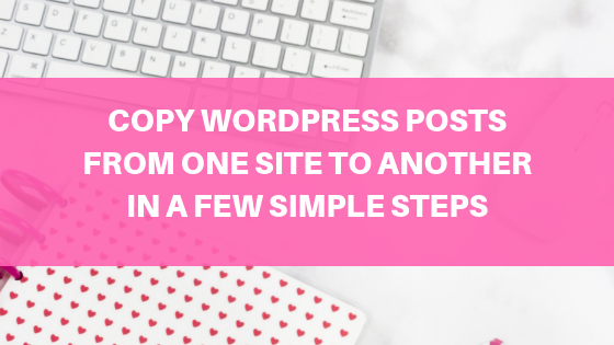 How to Export WordPress Posts and Media