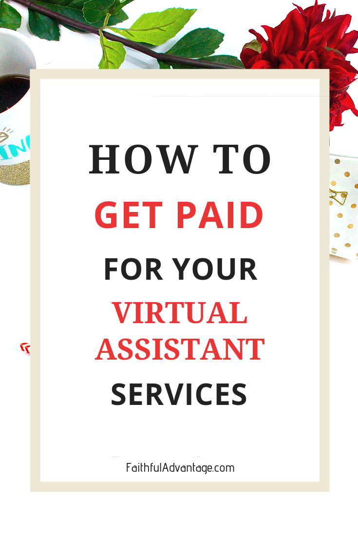 How to get paid for your virtual assistant services