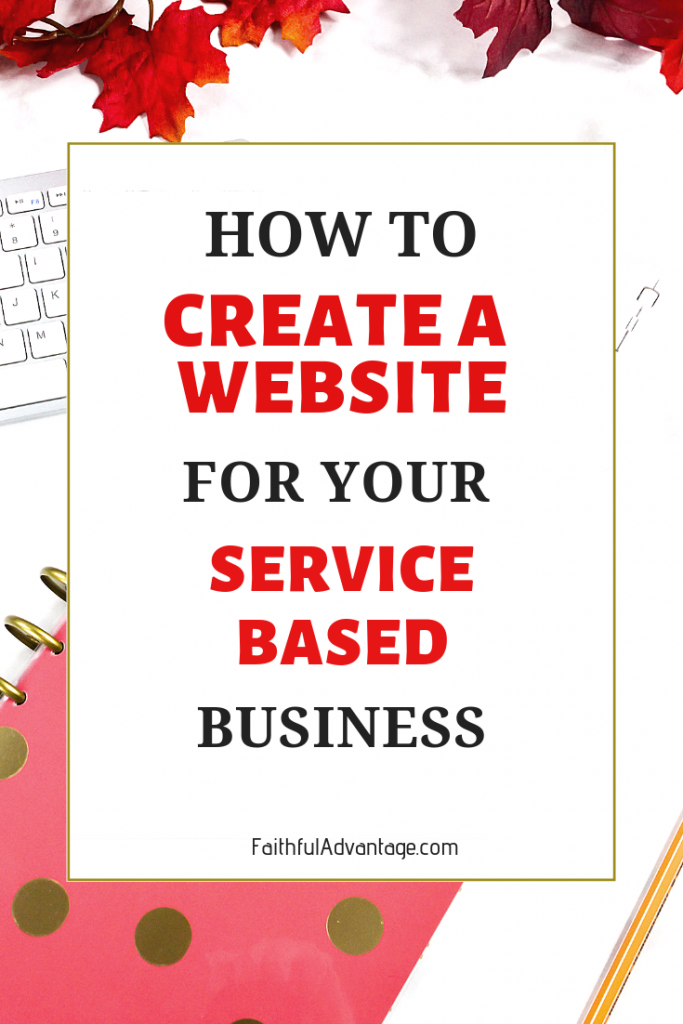 How to create a website for your service-based business