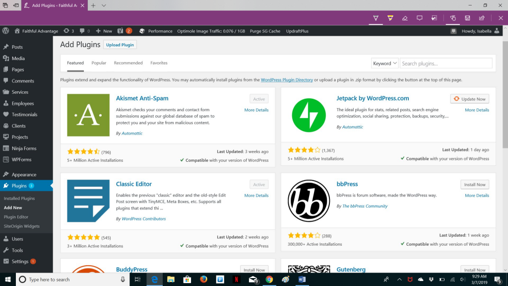 How to set up a wordpress site using SiteGround web hosting