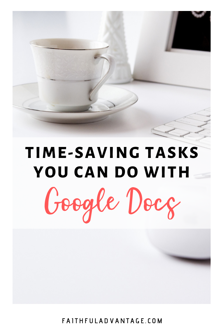 what you can do with Google Docs