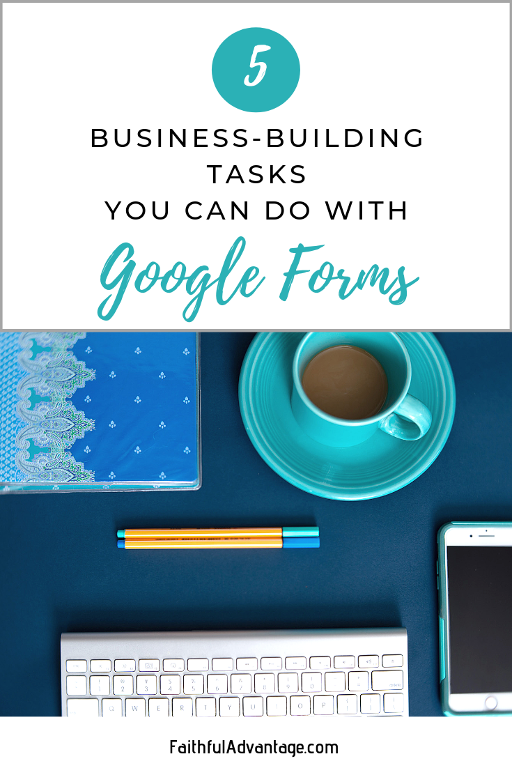 what you can do with google forms