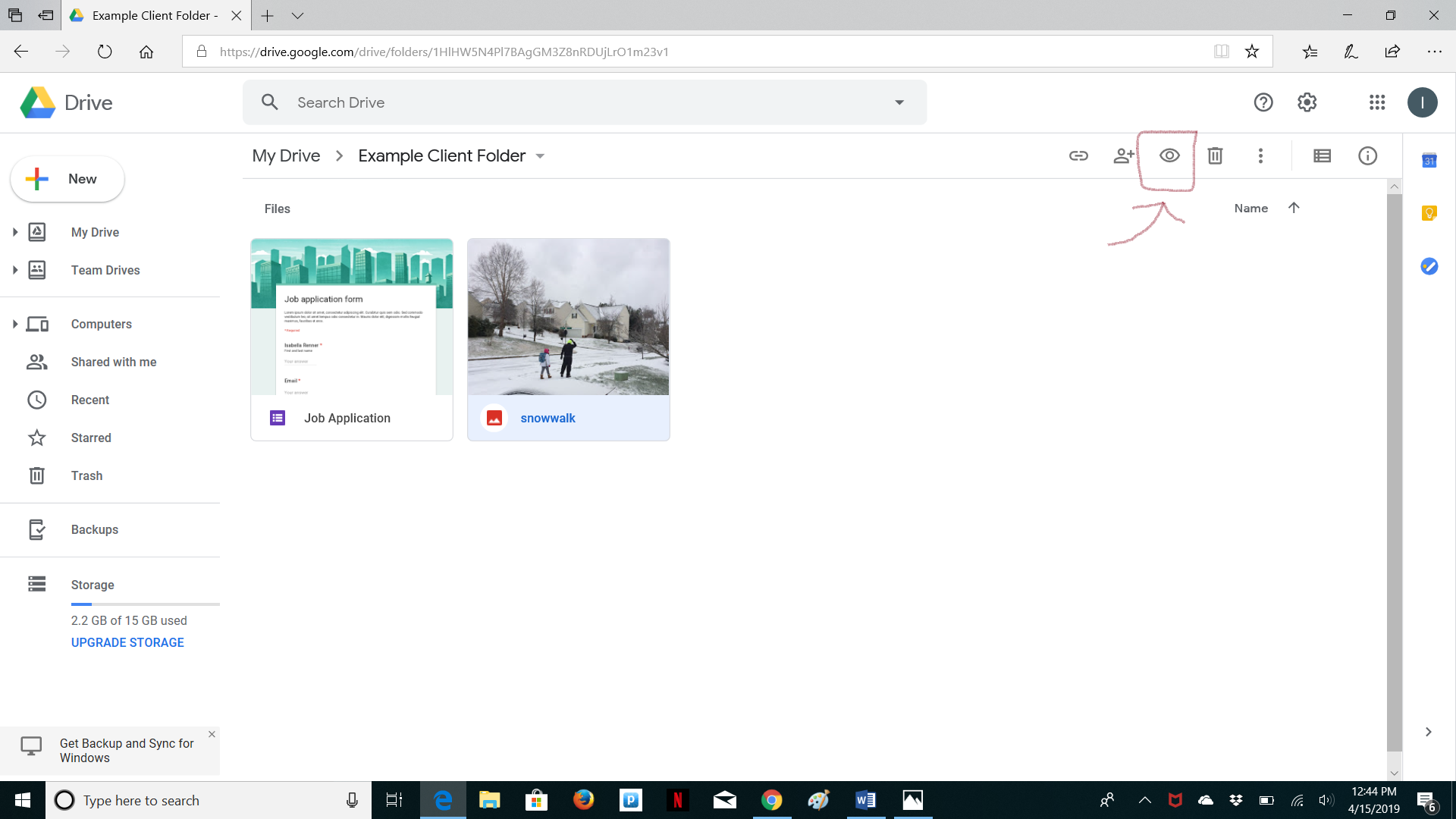 google drive preview
