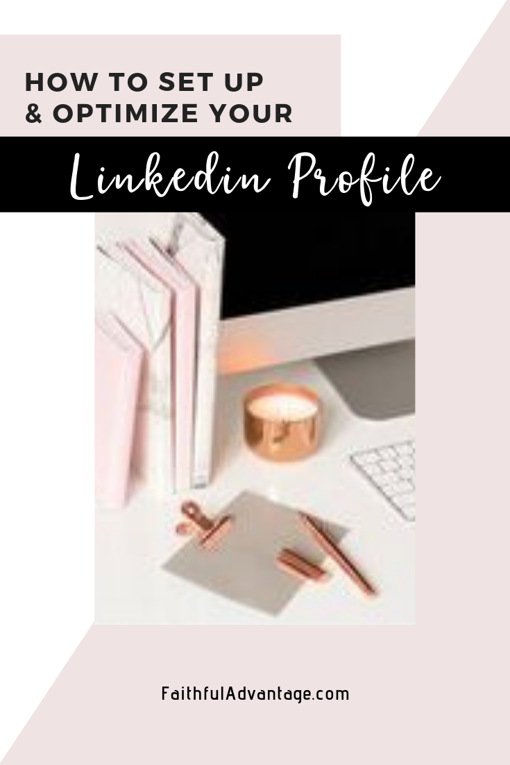 how to set up and optimize your LinkedIn profile