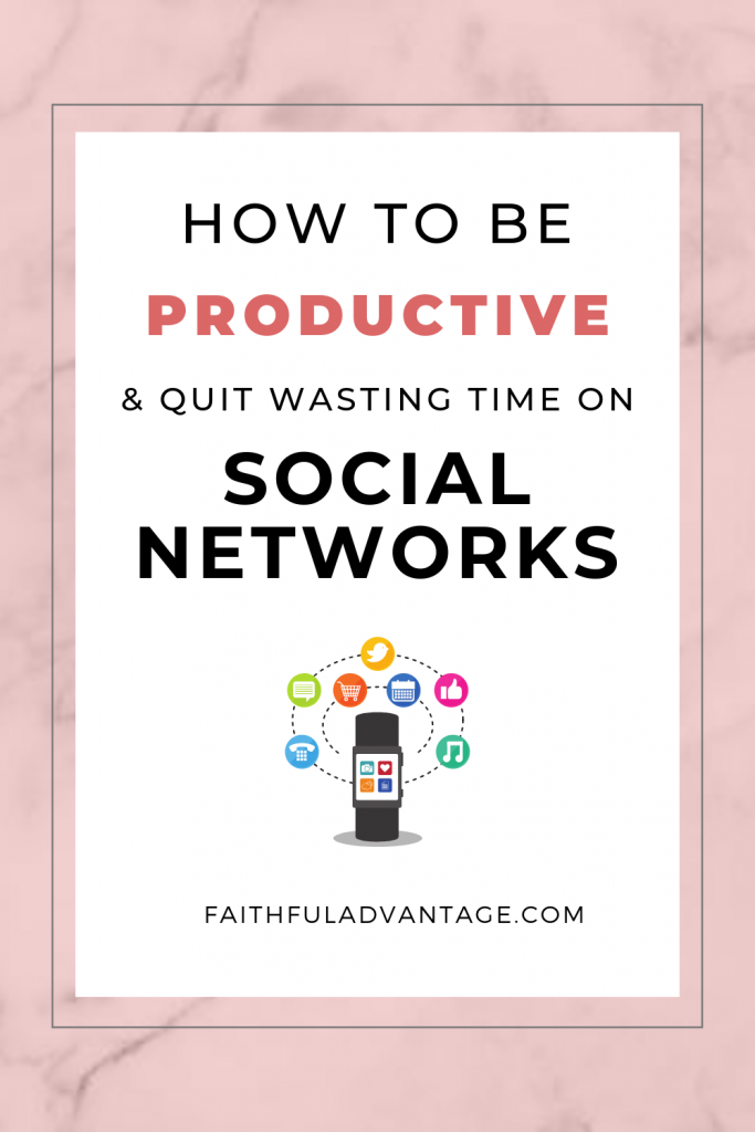 4 ways to be productive and still stay active on social networks