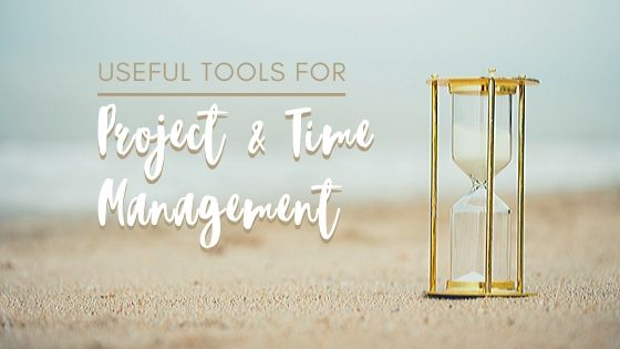 Project and time management tools blog header | Faithful Advantage