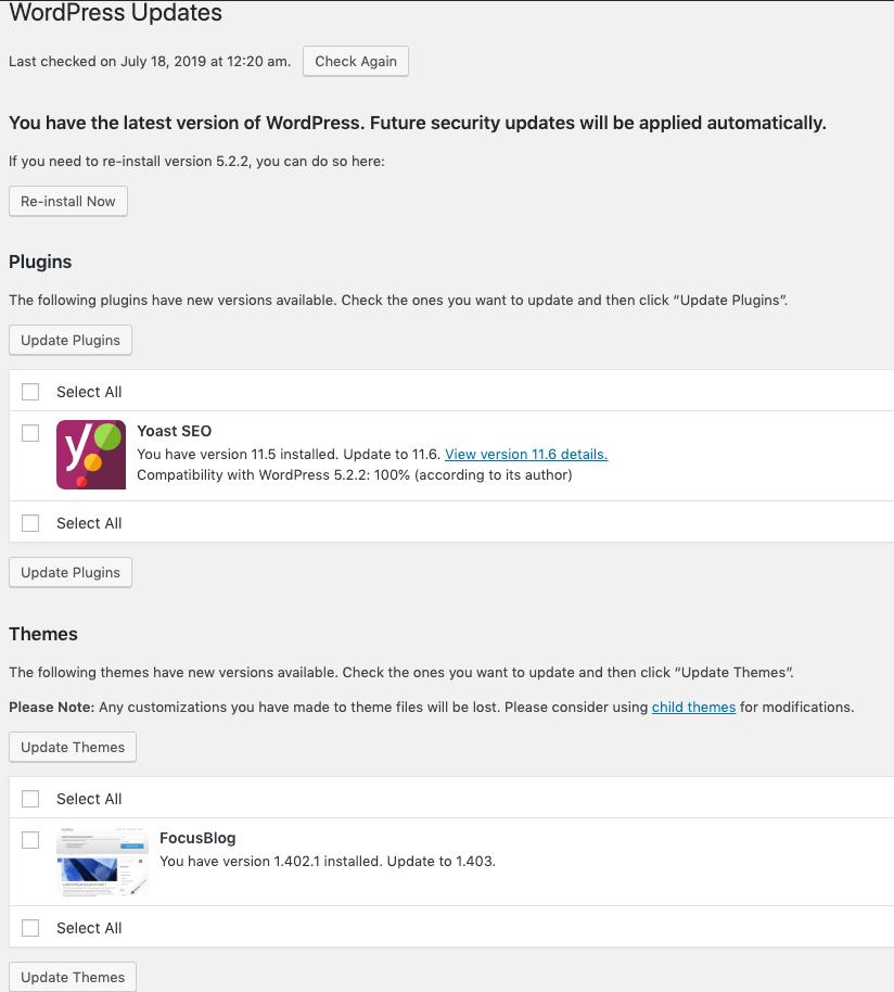 The WordPress Beginner's Guide-WordPress Dashboard