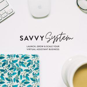 The Virtual Savvy Launch Image